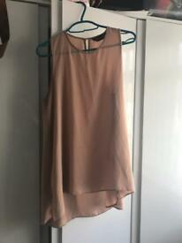 Dorothy Perkins nude top size 10