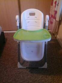 Mama and Papa childs highchair