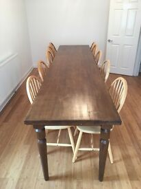 Rustic / Farmhouse Style Wooden Table