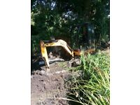SUPERIOR MINI DIGGERS ** MINI DIGGER AND DRIVER HIRE FROM £225.00 PER DAY FULLY INCLUSIVE *********