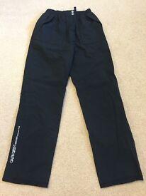 Women's Galvin Green black waterproof trousers size XXS worn only once