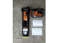 RADIODETECTION MK2 CABLE AVOIDANCE TOOL/CAT DETECTOR SCANNER & GENNY (Fully Cal)