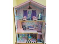 Large Dolls House including Furniture