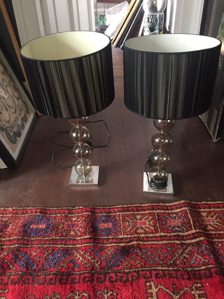 Pair of matching table lamps. Pair of matching table lamps   in Edinburgh City Centre  Edinburgh