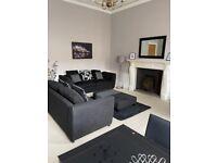 Very Spacious Ground Floor 1 Bedroom Flat in New Town Area of Edinburgh, Gloucester Place EH3 6EE