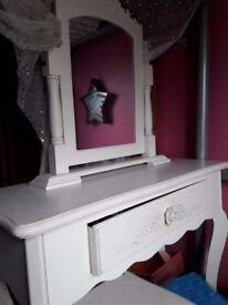 White Vanity Table