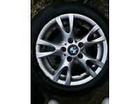 Bmw 1, 3 alloy wheels 16