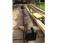 Oak beam large