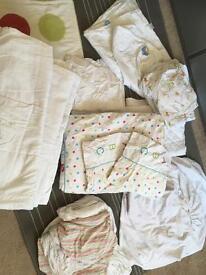 Huge cot bed/toddler bed bedding bundle!