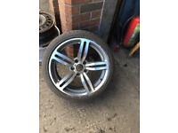 BMW spare alloy wheel 18""