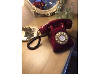 Beautiful retro telephone