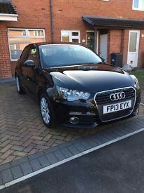 2013 AUDI A1 Sport 1.6TDI very low mileage £0 ROAD TAX