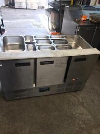 Bench counter pizza fridge for shop cafe restaurant takeaway restaurant restaurant mahsbs