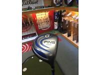 USED - Ping G5 460cc 9 degree, prolaunch blue 65 S-Flex Shaft, Golf Pride Tour Velvet Grip