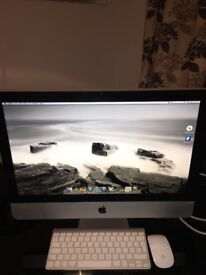 "Apple I-Mac 21.5"" monitor 4Gb with 3.06 ghz processor. Great condition,wireless mouse and keyboard."