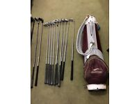 Slazenger golf Bag, With full set of clubs, Tees and Lots of golf balls