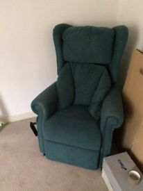 Electric Rise Recliner Armchair