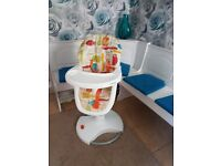 Baby high chair cossatto 3sixti