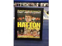 Vintage 90's Early 2000's Boxing Framed Posters
