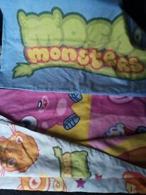 Kids Duvet Moshi Monsters single reversible duvet with pillowcase-CAN POST