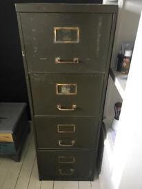 Vintage filing cabinet 4 draw