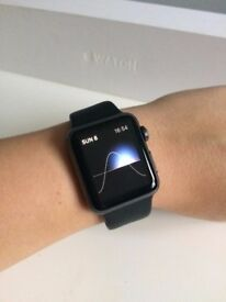 Apple Watch - Series 0 - 38mm - Black - Excellent Condition - No Scratches!