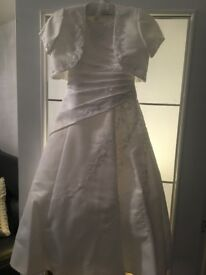 Used beautiful communion dress