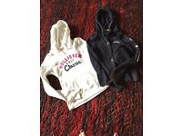 2 Ladies Holister Hoodies