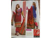 Asian suits - Rana Arts 3pcs shalwar kameez