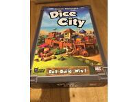 """""""Dice City"""" Board game - near perfect condition"""