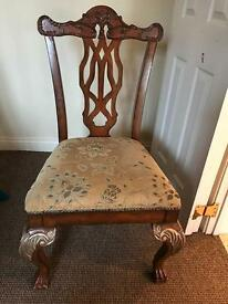 Large dining room chairs