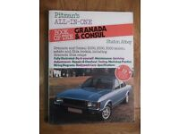 Pitman's Maintenance Manual for Ford Granada/Consul