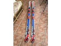 Stockli stormrider skis, 184cm with Marker Logic M18 bindings