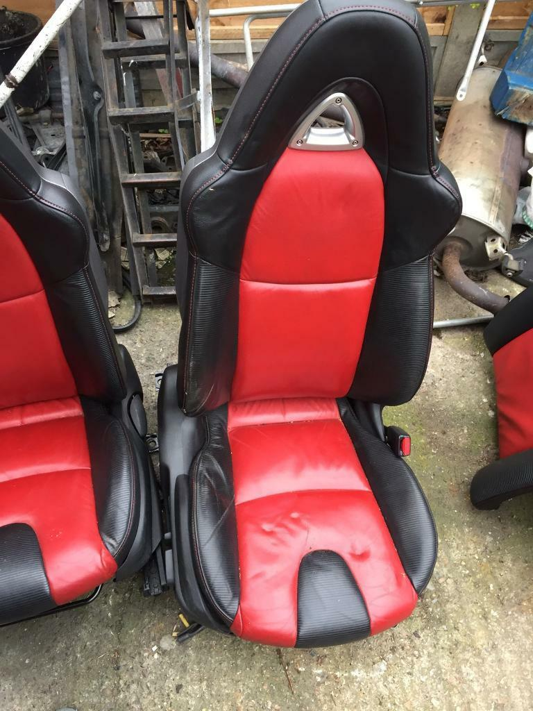 mazda rx8 231 black and red leather interior   in hayes, london