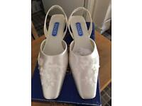 Wedding dress Debenhams with matching shoes and wrap