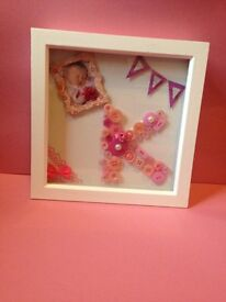 Box Frames! Can be tailored to you needs, e,g colour, size, wording etc!
