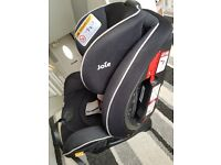 Joie Car seat from birth to 7 years old 0+ / 1 / 2 still like new.