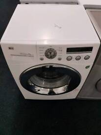 LG 8kg washing machine with warranty and fast delivery