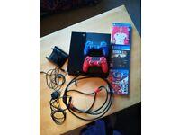 STILL AVAILABLE: Black playstation 4 500gb +3 games (will upload pics asap)