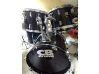 CB drum kit (would swap for squier telecaster guitar )
