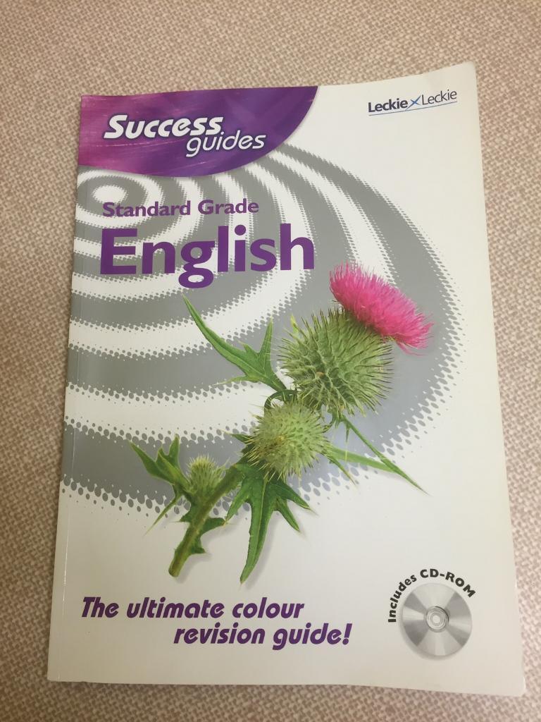 L+L Standard Grade ENGLISH Success Guide & CD