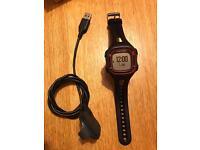 Garmin Forerunner 10 GPS Running Watch - Large, Black/Red
