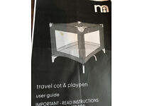 Mothercare Travel Cot/Playpen.