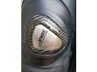 dainese titanium leather jacket size 58 euro