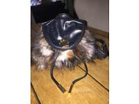 Girls Furry River island back pack
