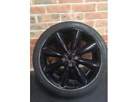 Mini r56 17 inch wheel conical in black
