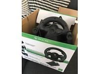 Xbox one steering wheel and pedal