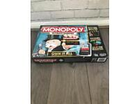 Brand New Monopoly Ultimate Banking