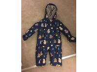 Nearly new!John Lewis all in one coat 9-12 months