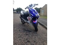 Yamaha aerox 50 lovely bike not a zip not a nrg not a runner